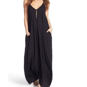 Elan V-Back Cover-Up Dress